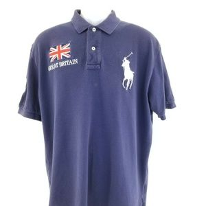 Polo Ralph Lauren Navy Blue Great Britain #3 Big